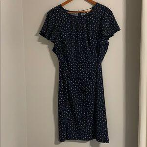 Loft Plus - Cape Sleeve Summer Dress